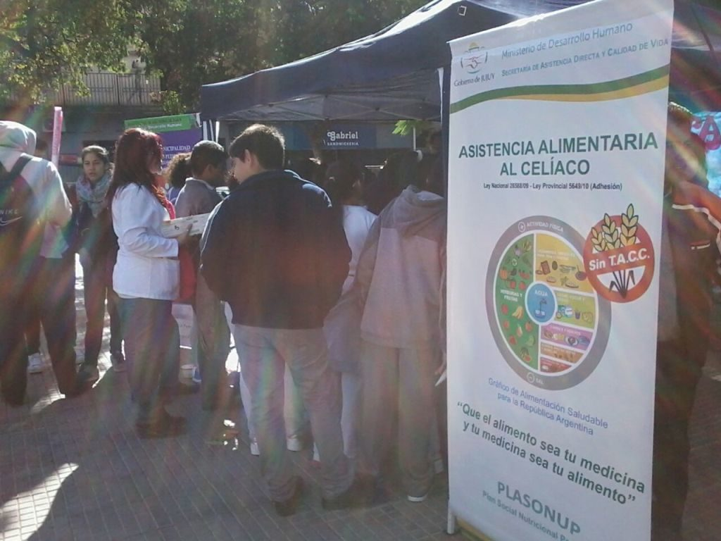 En San Pedro se realizó una jornada de contientización sobre la enfermedad celíaca