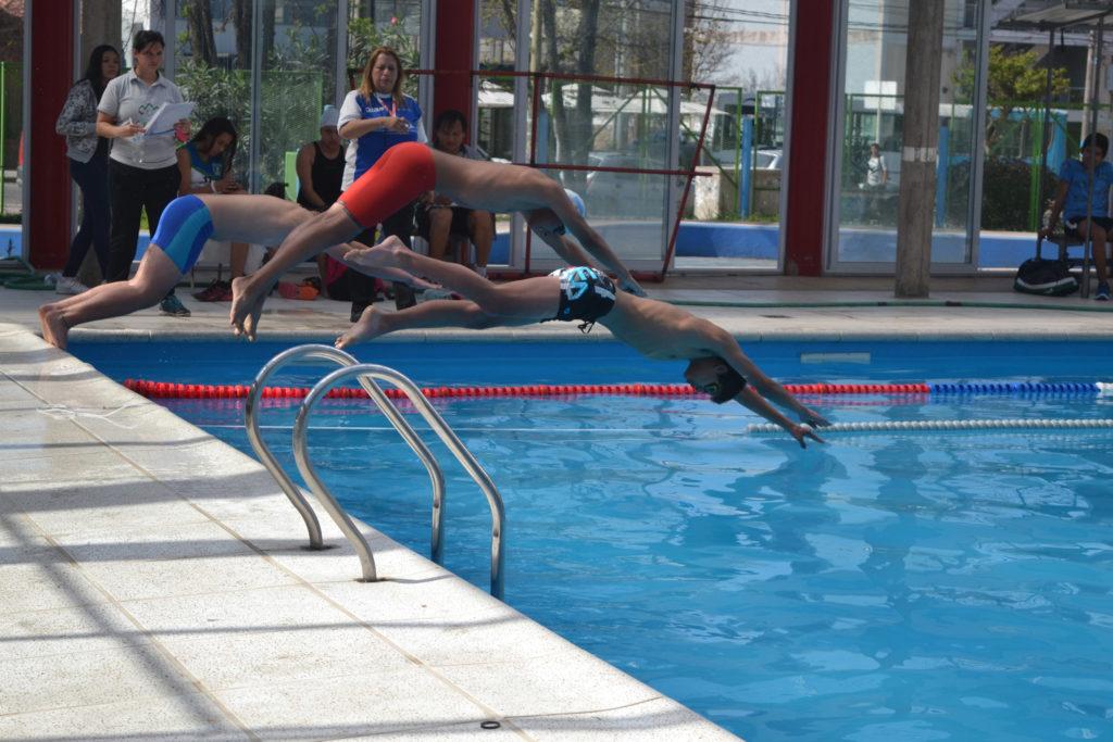 Juegos Evita: Final provincial en acuatlón y levantamiento de pesas.