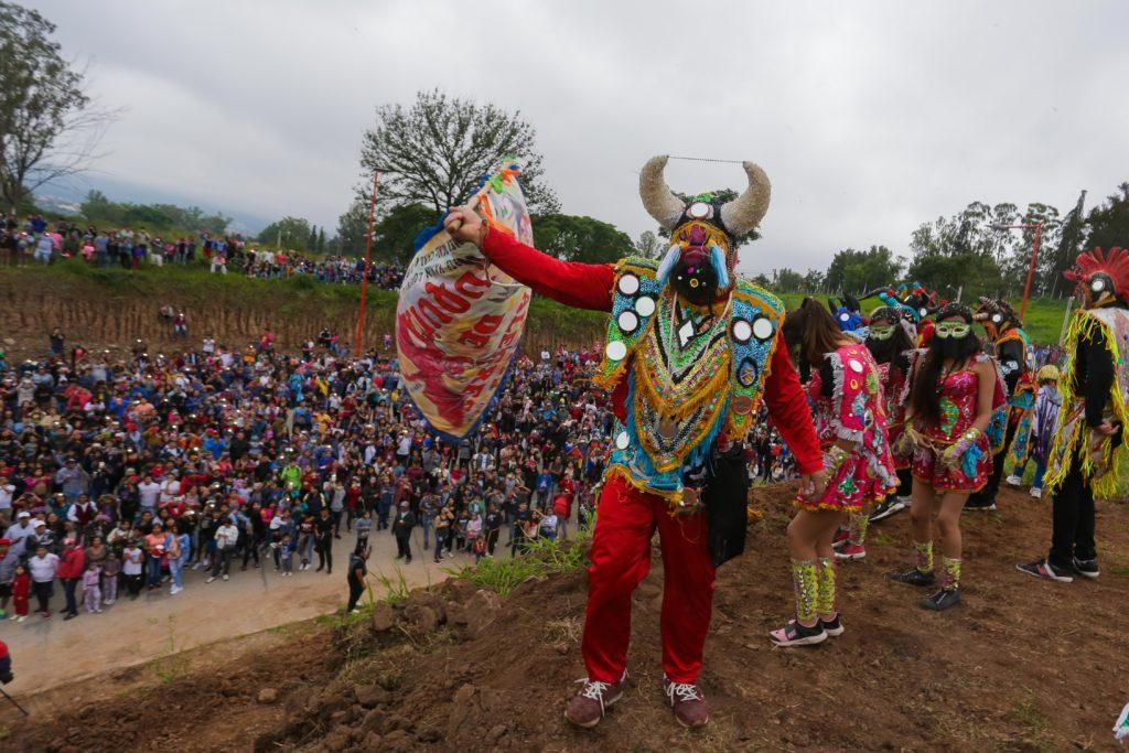 """Se realizó """"Simulacro de desentierro de Carnaval"""" en predios de la Ciudad Cultural."""
