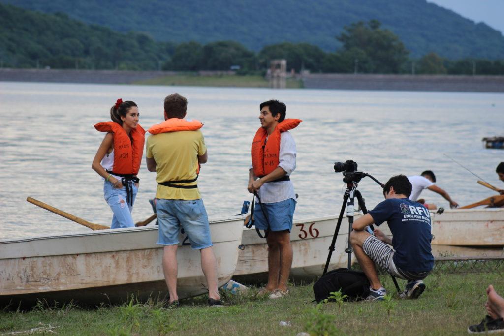 """Scouting  de """"Vestigios"""" en el Dique  El Carmen"""
